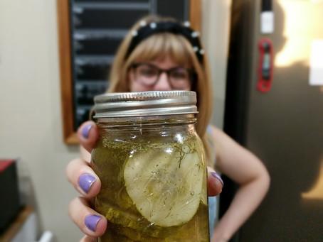 The Sunday Cookbook: Homemade Apple Cider Vinegar Dill Pickles