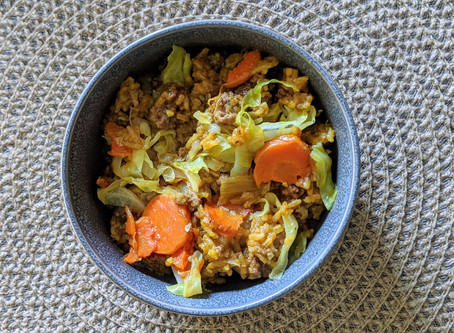 Cabbage and Carrots Casserole