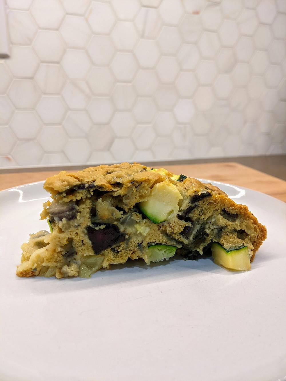 Zucchini Pie - amanda macgregor - Joseph Centineo - food allergy recipes - gluten free