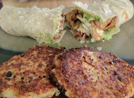 Gluten-Free & Vegan Cauliflower Hash Browns