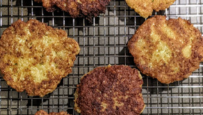 Gluten-Free and Vegan Cauliflower Hash Browns