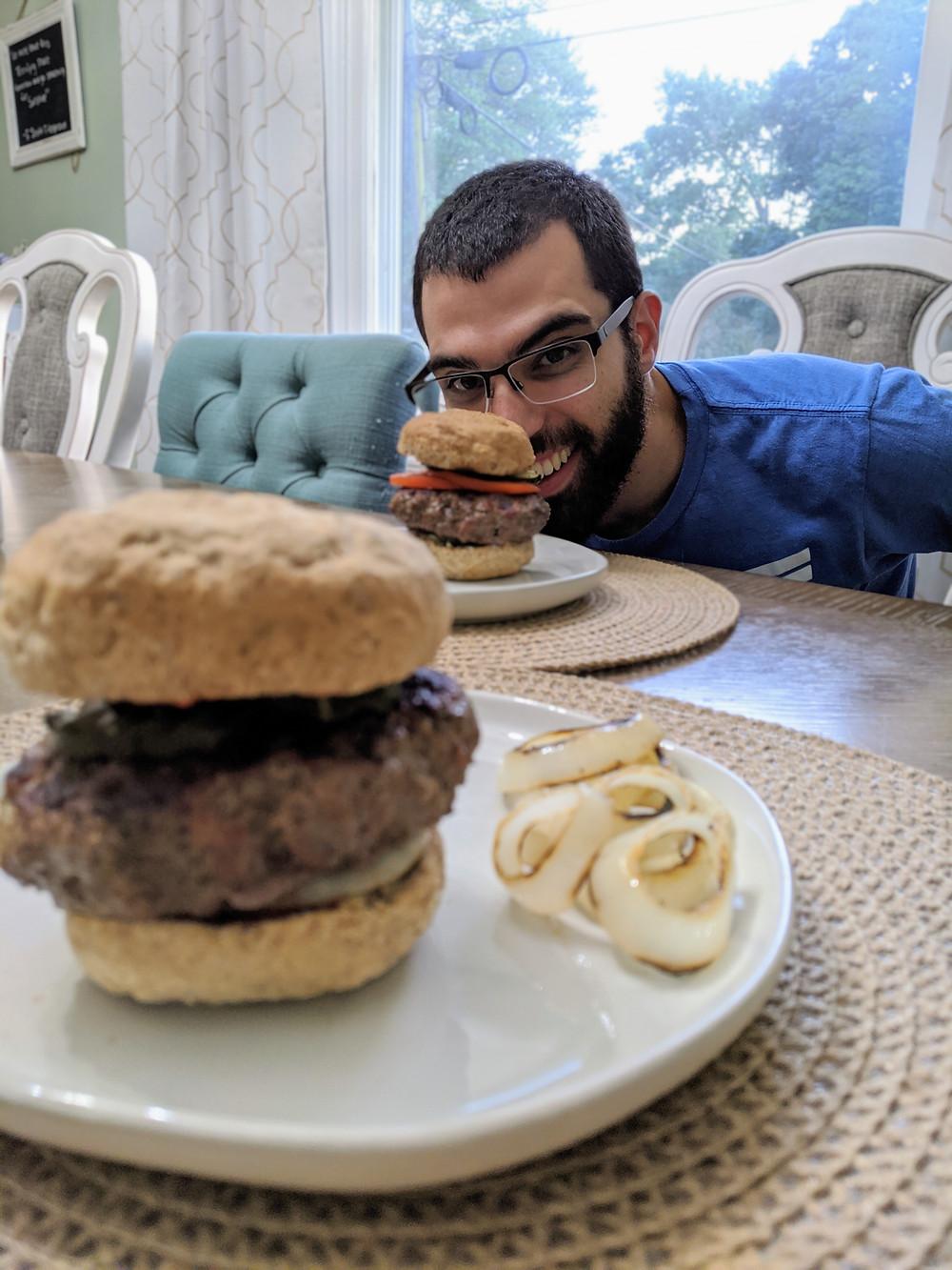 Building a perfect food allergy-friendly burger - Amanda MacGregor