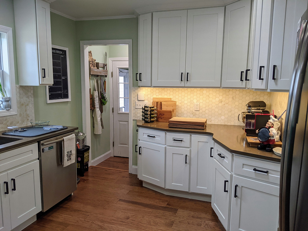 Our Kitchen: Plans, Progress, and The Reveal - amanda macgregor joseph centineo - food allergy living - Thompson contracting
