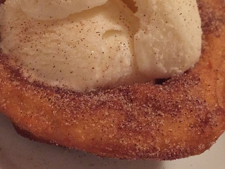 The Sunday Cookbook: Churro Ice Cream Bowls