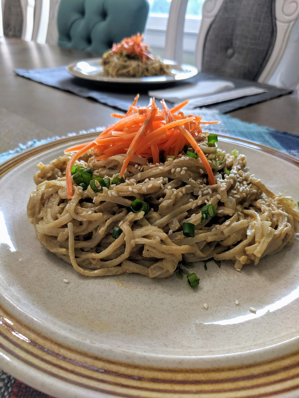 Pad Thai Noddles with Peanut Sauce Recipe, including a Sunbutter Alternative  - Amanda MacGregor - Food Allergy Recipes