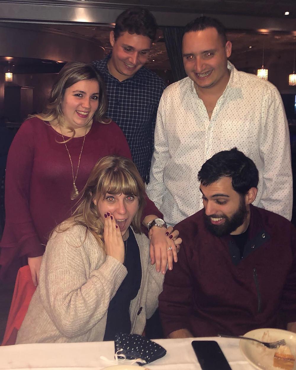 Amanda MacGregor - sister's engagement dinner