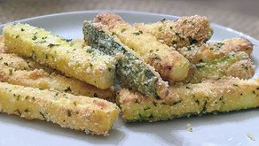 The Sunday Cookbook: Baked Zucchini Fries