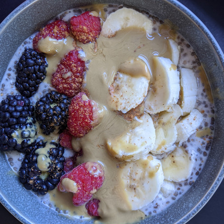 How to Make Dairy-Free Chia Pudding - Easy Recipe with a Matcha-Flavor Option!