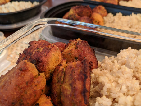The Sunday Cookbook: Sweet Potato and Chickpea Falafel