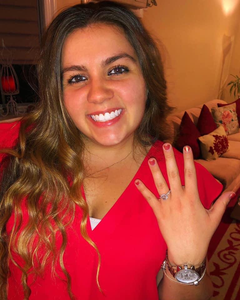 Amanda MacGregor - sister's engagement