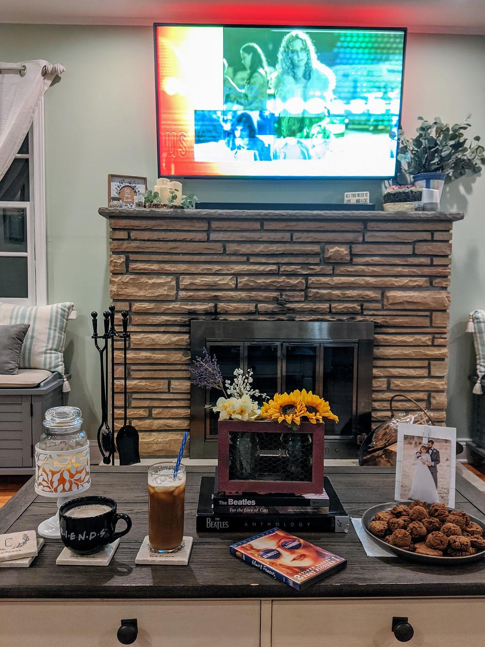 movie night - Our At-Home Date Night Game - Amanda MacGregor - joseph centineo