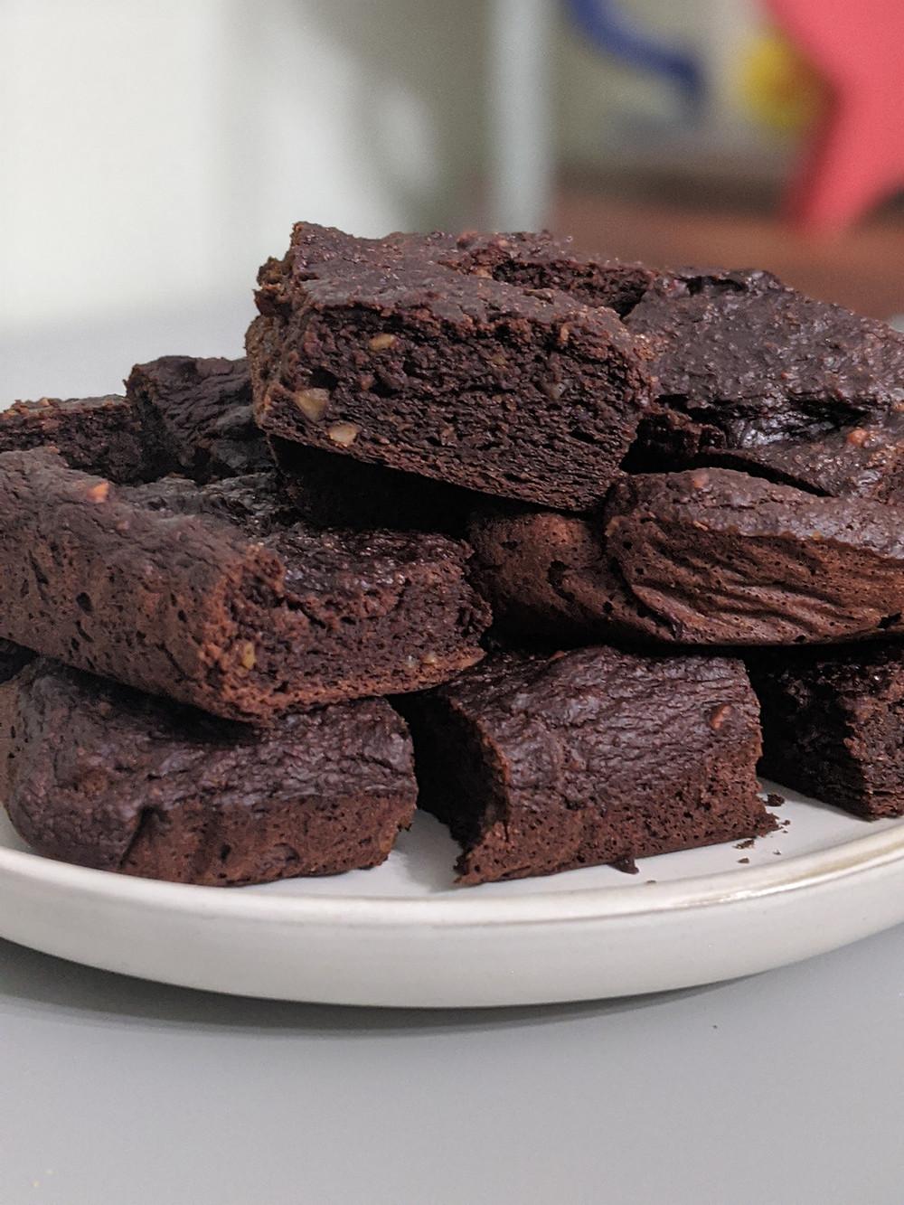 Plant Based Brownies - amanda macgregor centineo - food allergy recipes