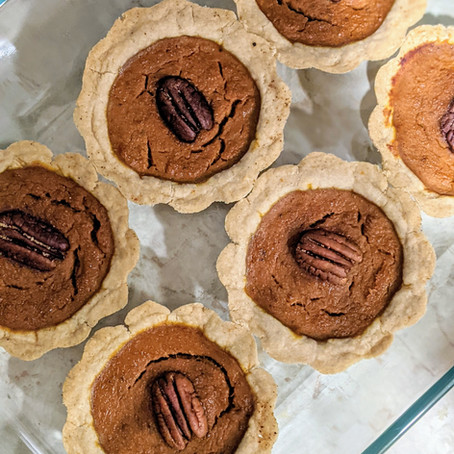 Mini Pumpkin Pie Recipe with Pampered Chef's Mini Pie Pan