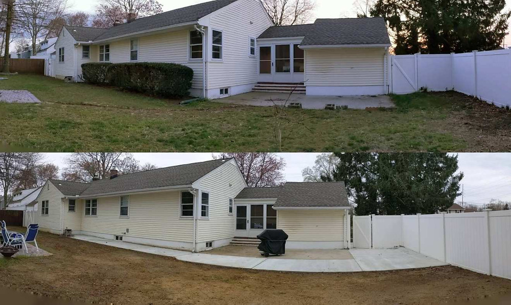 Our Two Year Home Anniversary + Updates - amanda macgregor - joseph centineo - home lifestyle - backyard paving