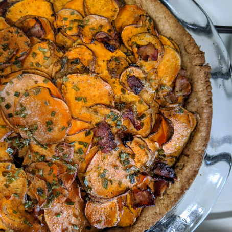 Irish Sweet Potato Pie