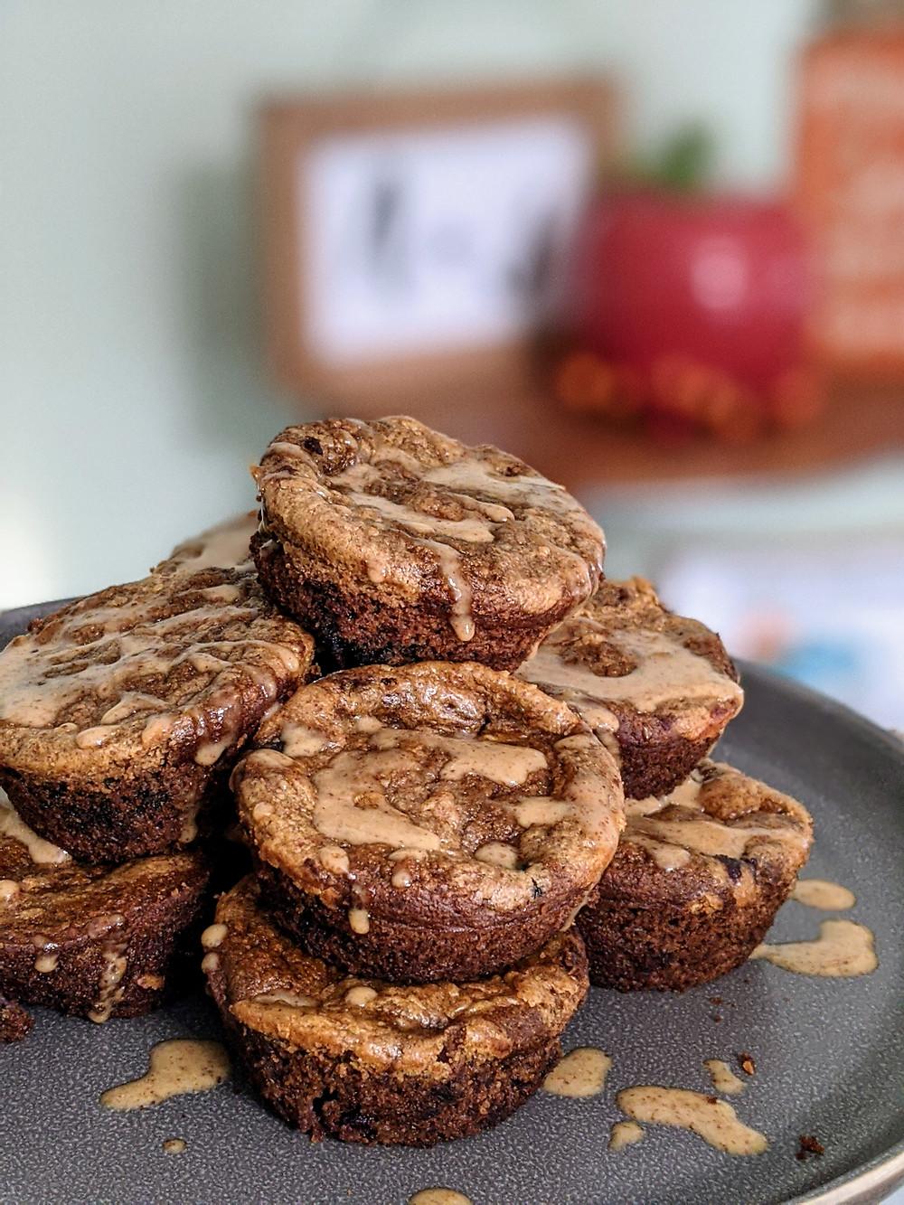 Blueberry Banana Bread Bites - Amanda MacGregor - Joseph Centineo - food allergy recipes