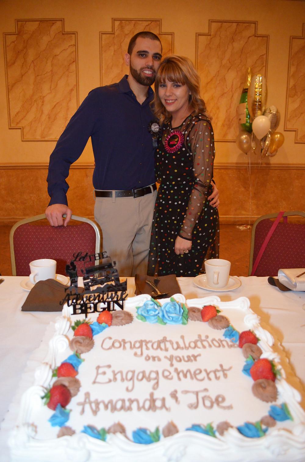 Our engagement dinner - food allergy lifestyle - amanda macgregor - joseph centineo