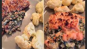 The Sunday Cookbook: Spinach Dip Stuffed Steak-or-Chicken