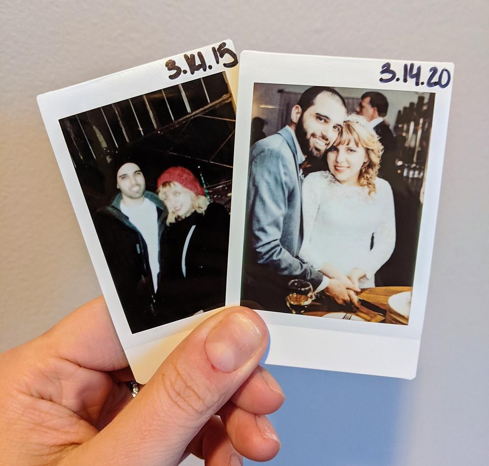 Amanda and Joseph - five years