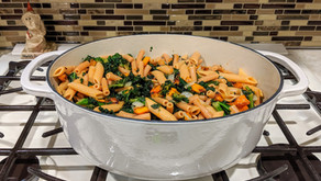 The Sunday Cookbook: Barilla's Red Lentil Pasta with Butternut Squash and Veggies