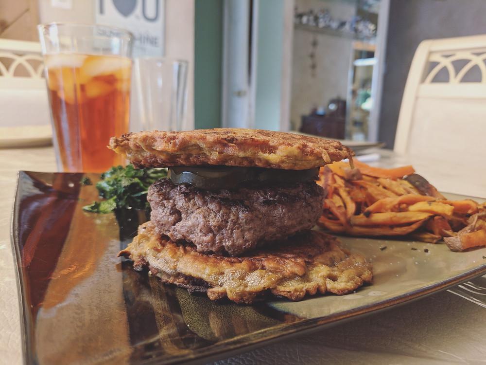 Sweet Potato Burger Buns - food allergy recipes - amanda macgregor centineo