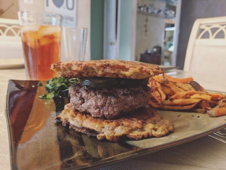 Sweet Potato Burger or Sandwich Buns