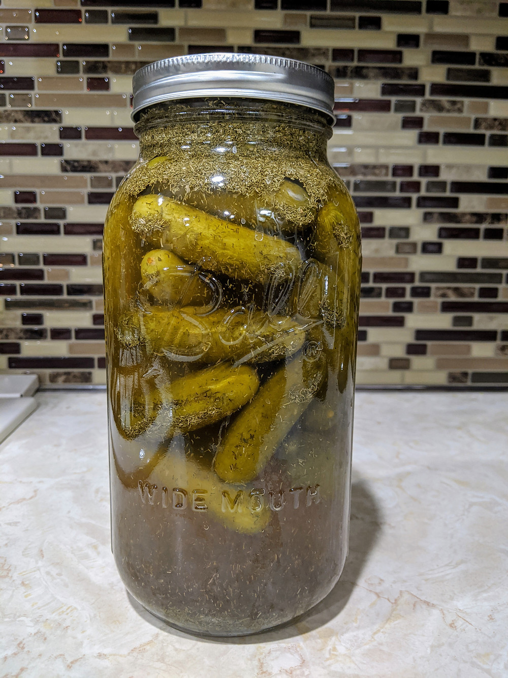 Homemade Garlic Dill Pickles - The Sunday Cookbook