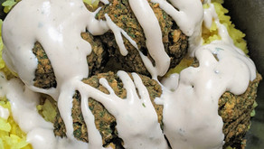 The Sunday Cookbook: Sweet Potato and Chickpea Falafel
