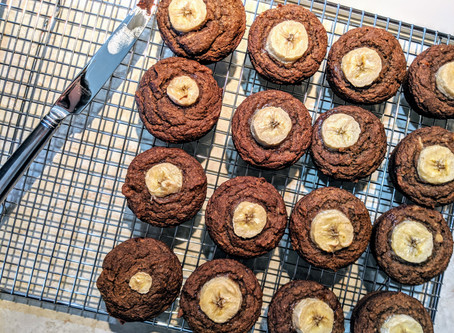 Maple and Date Banana Muffins