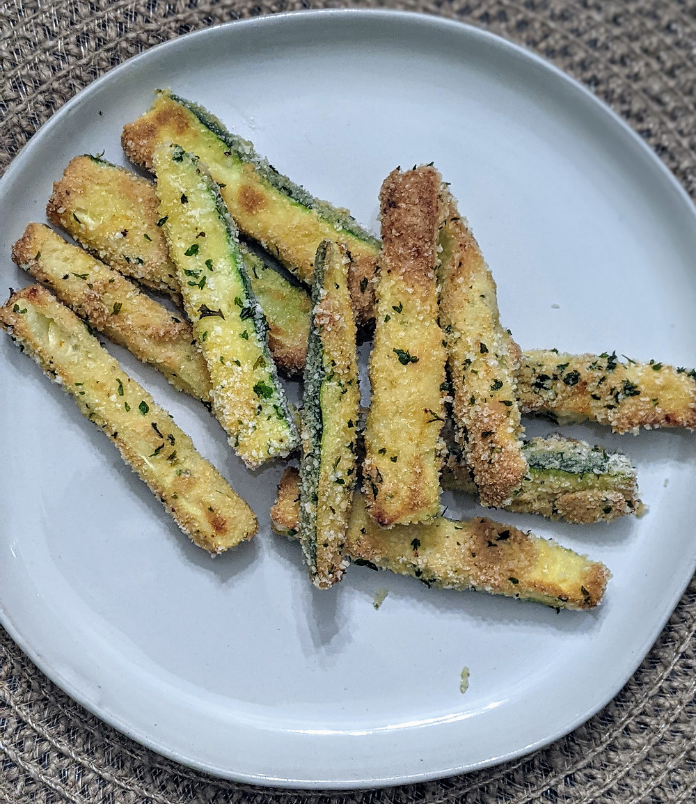Baked Zucchini Fries - The Sunday Cookbook - Food Allergy Recipes