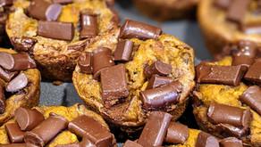 Pumpkin Banana Chip Muffins - Intestinal Candidiasis Approved