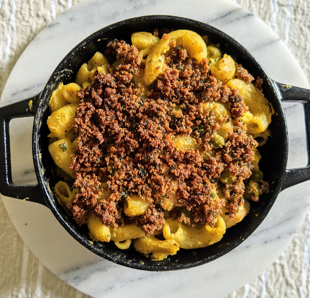"Our Vegan Mac and ""Cheese"" Recipe using Nutritional Yeast - Amanda MacGregor"
