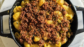 """Our Vegan Mac and """"Cheese"""" Recipe using Nutritional Yeast"""