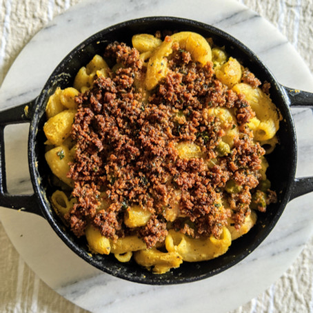 "Our Vegan Mac and ""Cheese"" Recipe using Nutritional Yeast"
