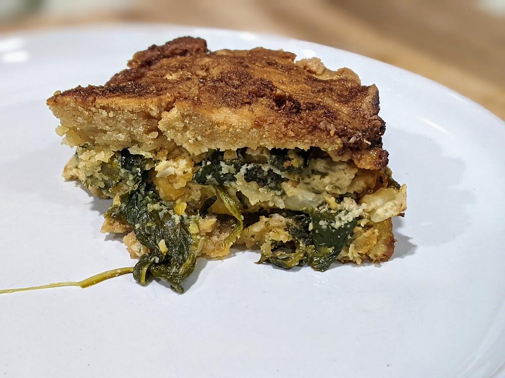 Vegan Spanakopita - gluten free - amanda macgregor joseph centineo - food allergy recipes