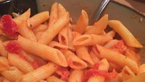 The Sunday Cookbook: Pasta in Homemade Corn-Free Vodka Sauce
