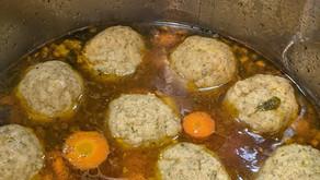 Homemade Gluten-Free Matzo Ball Soup