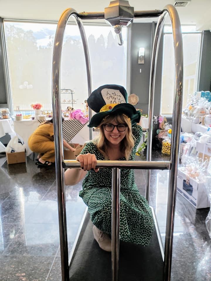 My Surprise Mad Hatter Themed Bridal Shower | Amanda MacGregor | wedding planning