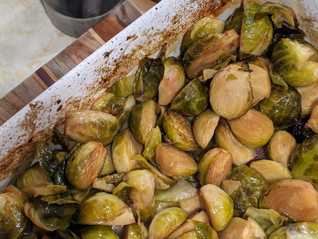 The Sunday Cookbook: Apple Cider Brussel Sprouts