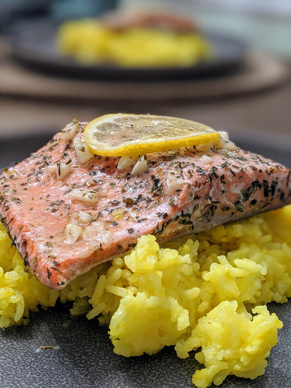 Salmon with Lemon Garlic Herb Seasoning - Amanda MacGregor - Food Allergy Recipes