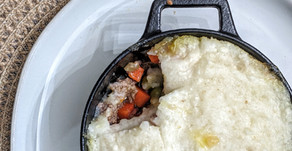 The Sunday Cookbook: Nightshade-Free Shepherd's Pie using Mashed Yuca