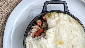The Sunday Cookbook: Nightshade-Free Shepherd's Pie using Mashed Yuca