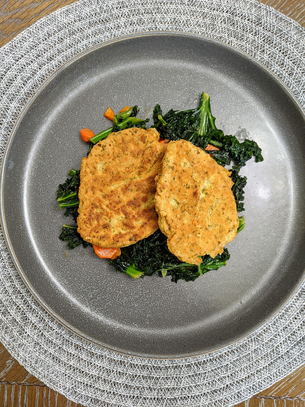 Easy Chickpea Patties - Amanda MacGregor