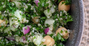 The Sunday Cookbook: Gluten-Free Tabbouleh with Kale and Chickpeas