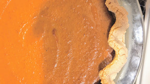 Jennifer Esposito's Pumpkin Pie Recipe with a MacGregor Twist