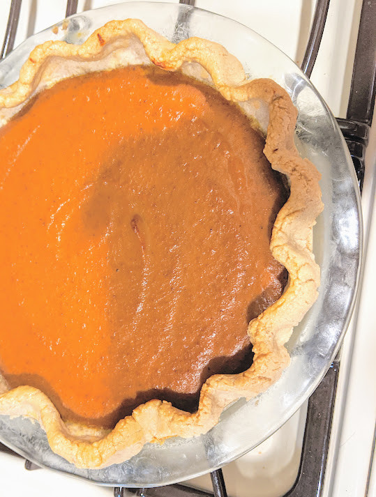 Food allergy-friendly pumpkin pie - Food Allergy-Friendly Thanksgiving - Amanda MacGregor - Food Allergy recipes - centineo