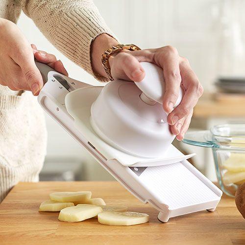 Pampered Chef - Amanda MacGregor - Food Allergy Recipes - simple slicer