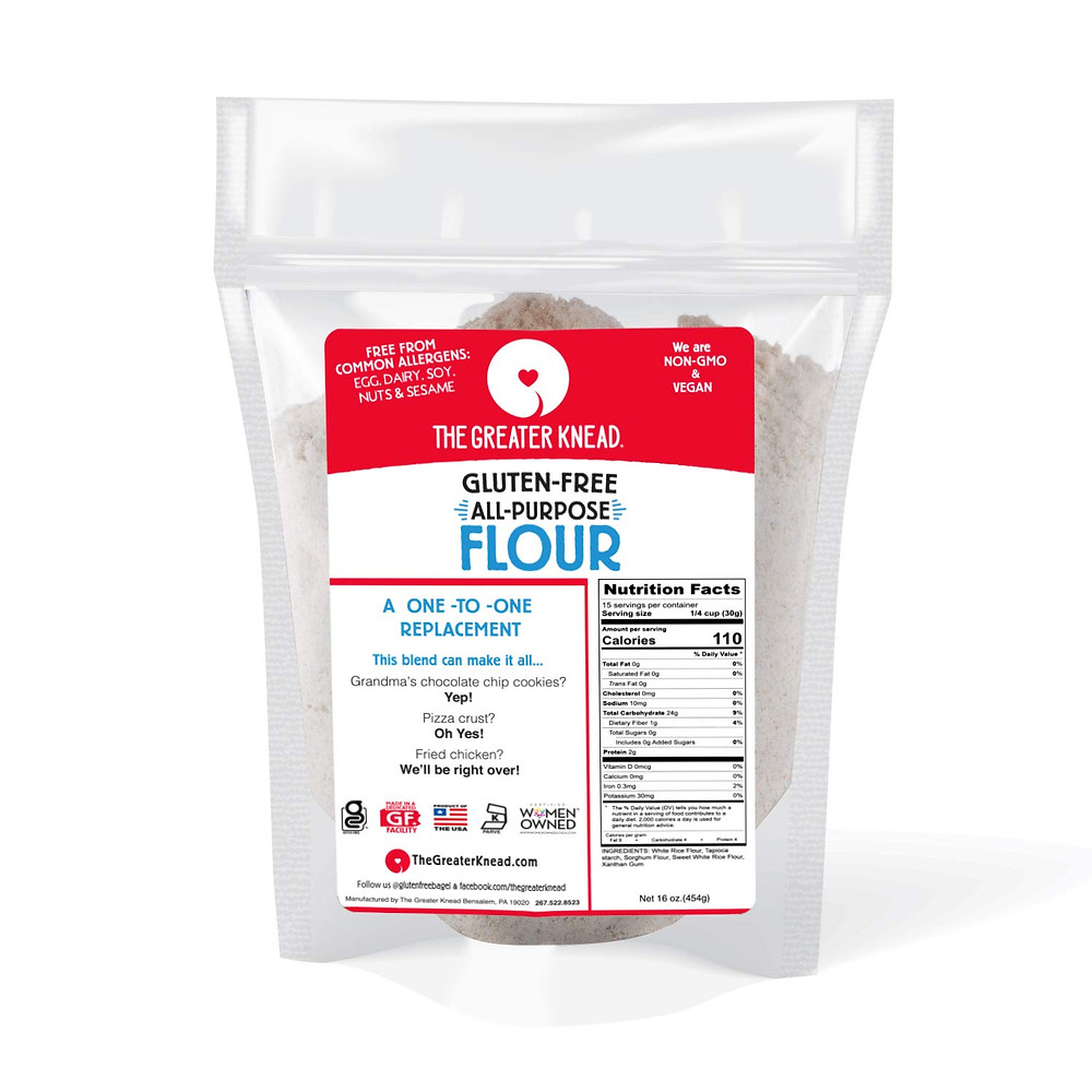 The Greater Knead Gluten-Free & Top Allergen-Free Flour Blend - amanda macgregor