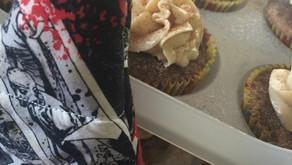 Fear The Walking Dead Themed Recipes: Beautiful Baja Churro Cupcakes