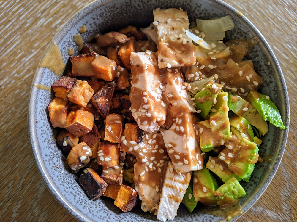 The Sunday Cookbook - Chicken Buddha Bowls - food allergy recipes - whole 30 - joseph centineo